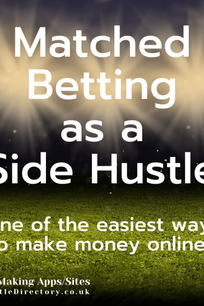 Matched Betting as a side hustle