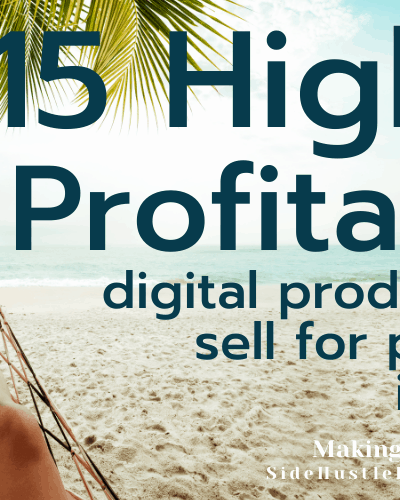 digital products to sell for passive income uk